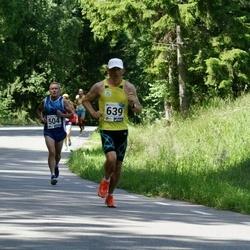 36. jooks ümber Pühajärve - Agu Lehemaa (504), Raido Raspel (639)