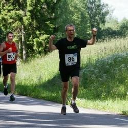 36. jooks ümber Pühajärve - Illar Kukk (86), Hannes Keemu (800)