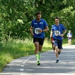36. jooks ümber Pühajärve - Sander Paesalu (59), Jaanus Urb (726)