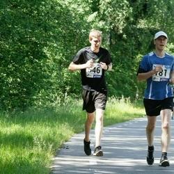 36. jooks ümber Pühajärve - Rivo Roo (181), Alekszej Morgunov (546)