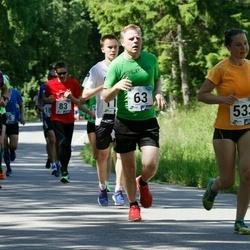 36. jooks ümber Pühajärve - Olle Selliov (63), Laura Maasik (533)