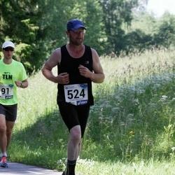 36. jooks ümber Pühajärve - Arnold Loos (524)