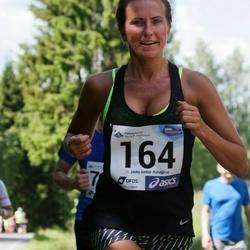 36. jooks ümber Pühajärve - Kristina Uibo (164)