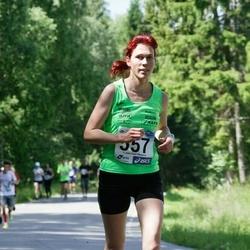 36. jooks ümber Pühajärve - Maria Mällas (557)
