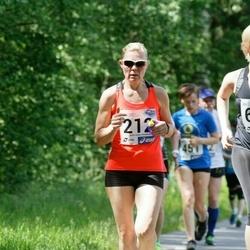 36. jooks ümber Pühajärve - Evelin Kose (212), Grete Põder (621)