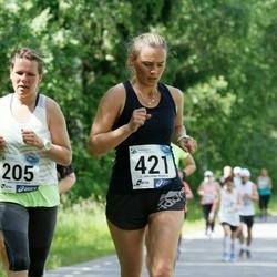 36. jooks ümber Pühajärve - Merle Kale (421)