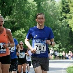 36. jooks ümber Pühajärve - Age Veemees (744), Lauri Kiivit (797)