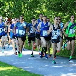 36. jooks ümber Pühajärve - Rauno Laumets (1), Raido Mitt (2), Raido Ränkel (3), Jaanus Kallaste (4), Raivo Alla (329)