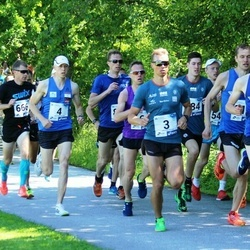 36. jooks ümber Pühajärve - Raido Mitt (2), Raido Ränkel (3), Jaanus Kallaste (4)