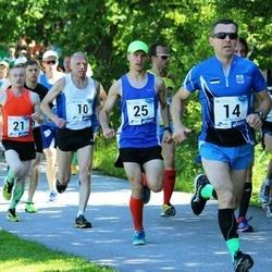 36. jooks ümber Pühajärve - Ago Veilberg (10), Ain Kilk (14), Esko Järvi (21), Mardo Lundver (25)
