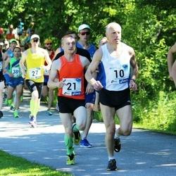 36. jooks ümber Pühajärve - Ago Veilberg (10), Esko Järvi (21)