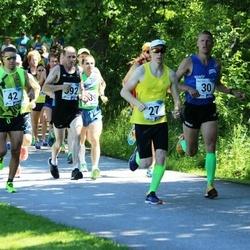 36. jooks ümber Pühajärve - Cristian Anton (27), Urmo Kallakas (30), Raul Seema (42)