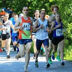 36. jooks ümber Pühajärve - Gunnar Kingo (441), Ulf Rosen (657), Marion Tibar (706)