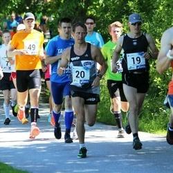 36. jooks ümber Pühajärve - Martin Sagaja (19), Erkki Hummal (20)