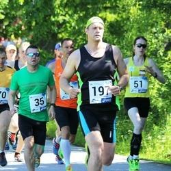 36. jooks ümber Pühajärve - Heimar Pehk (35), Klen Krünberg (197)