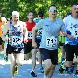 36. jooks ümber Pühajärve - Urmas Ervin (356), Dan Weinberg (747)