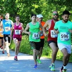 36. jooks ümber Pühajärve - Viivi-Anne Soots (41), Daniel Michael Tikva (54), Rodolfo Perez (596)