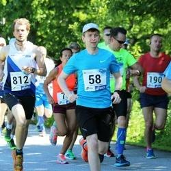 36. jooks ümber Pühajärve - Jaanus Kuusk (58), Gion Schnyder (812)