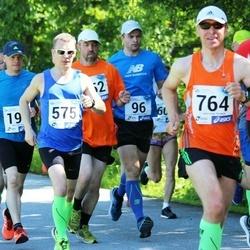 36. jooks ümber Pühajärve - Raimond Ojalil (575), Evgenii Shutov (764)