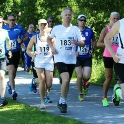36. jooks ümber Pühajärve - Keelia Hallap (119), Raimond Saks (183), Kaspar Kaasla (409)