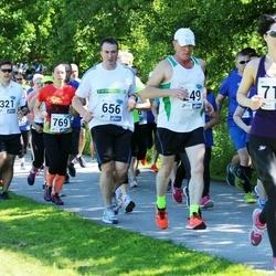 36. jooks ümber Pühajärve - Vello Voolaid (249), Eik Aab (321), Anto Roots (656), Kai Valtin (769)