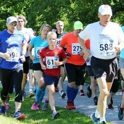 36. jooks ümber Pühajärve - Vallo Rähn (279), Kalle Palmar (588)