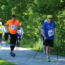 36. jooks ümber Pühajärve - Aivo Kruusimägi (293), Rando Soome (312)