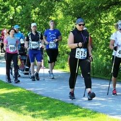 36. jooks ümber Pühajärve - Siret Kupper (476), Aire Liivapuu (515), Kert Ojasaar (577), Merle Must (808), Veiko Tiits (809)