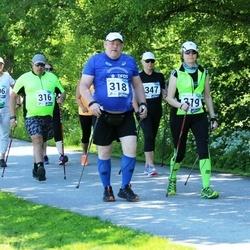 36. jooks ümber Pühajärve - Ahto Hindrea (318), Lily Hindrea (319)