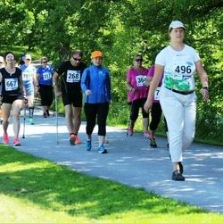 36. jooks ümber Pühajärve - Tarmo Leek (268), Leila Lahtvee (496)