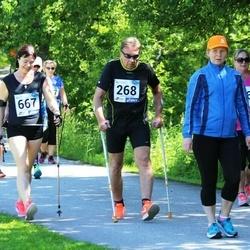 36. jooks ümber Pühajärve - Tarmo Leek (268), Marge Salujärv (667)