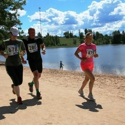 36. jooks ümber Pühajärve - Aivo Sepp (280), Piret Kummel (475), Annika Sepp (678)