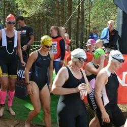 Sportland Kõrvemaa TRIATLON - Pille Naggel (419), Annemai Avingu (432), Andra Moistus (445)