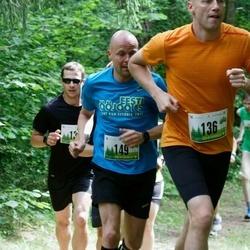 Vapramäe jooks - Margus Laanemäe (136), Andrus Kivari (149)