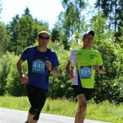 Viking Line Südasuve Maraton - Rauno Tiits (395), Antony Dumonteil (440)
