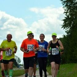 4. Suvejooks ümber Saadjärve - Rein Traus (219), Kätlin Jüürman (220), Raili Hurt (222), Vallo Rähn (230)