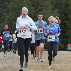 RMK Kõrvemaa Kevadjooks - Armi Tähema (137), Henrik Veenpere (185), Aivar Kuusmik (372), Marie Mädli Kivimäe (441)
