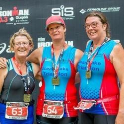 4:18:4 Otepää Triathlon - Boyd Marian Elizabeth (63), Skelton Joanna (64), Robinson Laura (65)