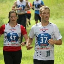 Vägilase jooks Lähte - Mart Kelk (37), Sigrid Ruul (47)