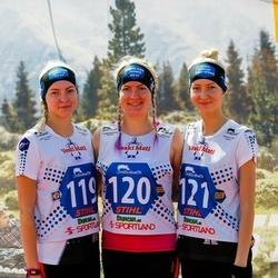 Vägilase jooks Lähte - Angelika Aruots (119), Merilin Aruots (120), Jaanika Aruots (121)