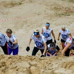 Vägilase jooks Lähte - Jaanika Aruots (121), Nancy Einberg (126), Anna Ðutova (131), Natalja Skvortsova (134)