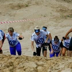 Vägilase jooks Lähte - Jaanika Aruots (121), Nancy Einberg (126), Anna Ðutova (131), Natalja Vassiljeva (133), Natalja Skvortsova (134)