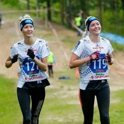 Vägilase jooks Lähte - Angelika Aruots (119), Jaanika Aruots (121)