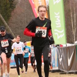 RMK Kõrvemaa Kevadjooks - Ago Teder (124), Siim Kaljumäe (445)