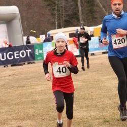 RMK Kõrvemaa Kevadjooks - Merilin Jürisaar (40), Aare Aan (420)