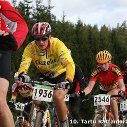 10. Tartu Rattamaraton - Agu Vilu (1067), Raido Raspel (1133), Andrus Mõttus (1936), Kristina Strachovic (2546)