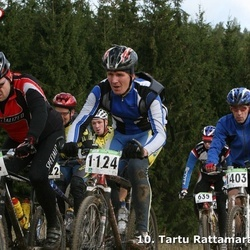 10. Tartu Rattamaraton - Mart Nurk (954), Aare Kenk (1124), Vello Oja (1403)