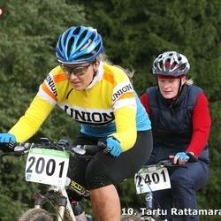 10. Tartu Rattamaraton - Kristel Akerman (2001), Annika Sepp (2401)
