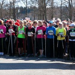 84. Suurjooks ümber Viljandi järve - Merle Jakobson (4000), Piret Mällo (4019), Liis Takkel (4038), Helen Takk (4040)