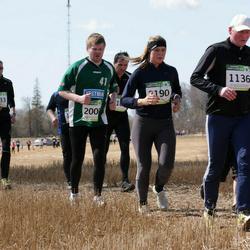 84. Suurjooks ümber Viljandi järve - Veljo Kimmel (1136), Amor Saal (1333), Katrin Tammsaar (2190)
